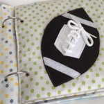 How To Sew Fabric Quiet Book Page For A Ring Binder