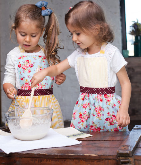 Handmade Toddler apron