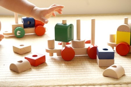 Toddler age appropriate play and creative toys
