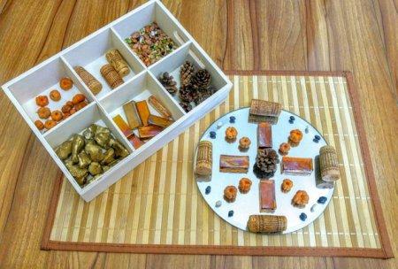 fall tinker tray