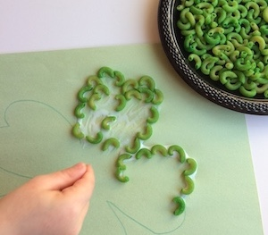 pasta arts and crafts for kids