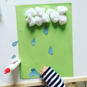 rainy day paper crafts for toddlers