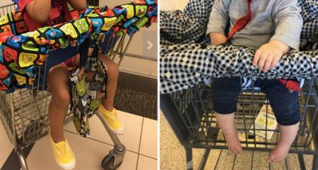 shopping cart or public high cair cover