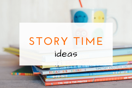 story time ideas, recommended books and story retelling