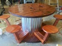 How to make Wire Spool Table | by Corrie | Craftlog