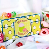 "Scrapbooking box-album ""Sweet Treats"""