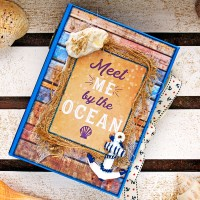 "Scrapbooking album ""Meet me by the Ocean"""