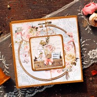 "Scrapbooking 6x6 album ""Welcome Home"""