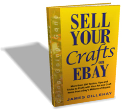 sell crafts on ebay book