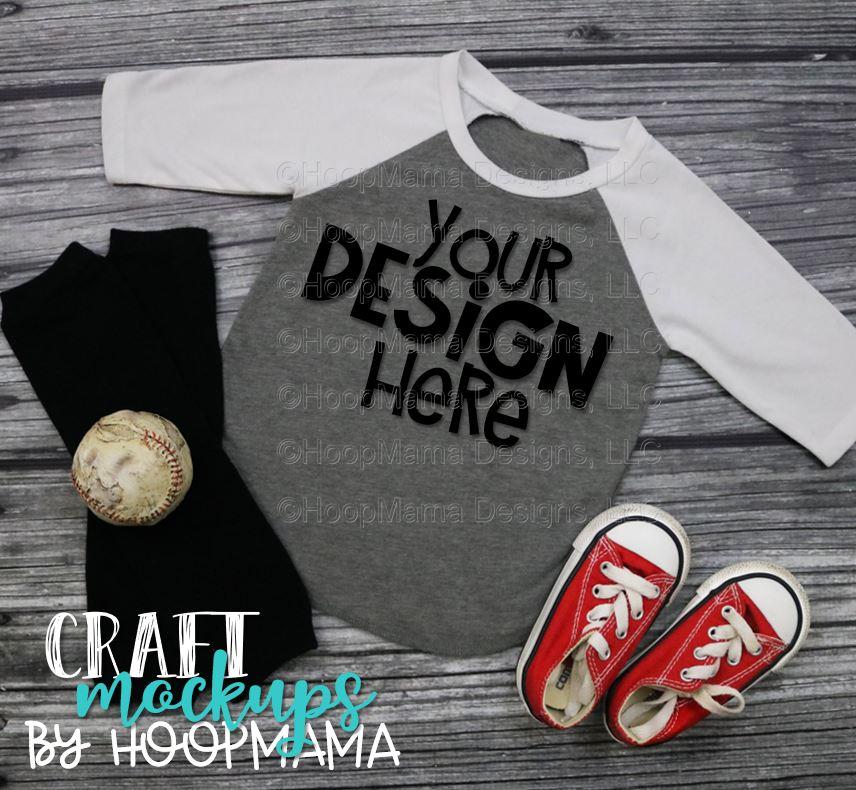 8dfce0c5 Baseball Kids – Red Baseball Raglan T Shirt 9: Kavio IJP0660 MOCK UP ...