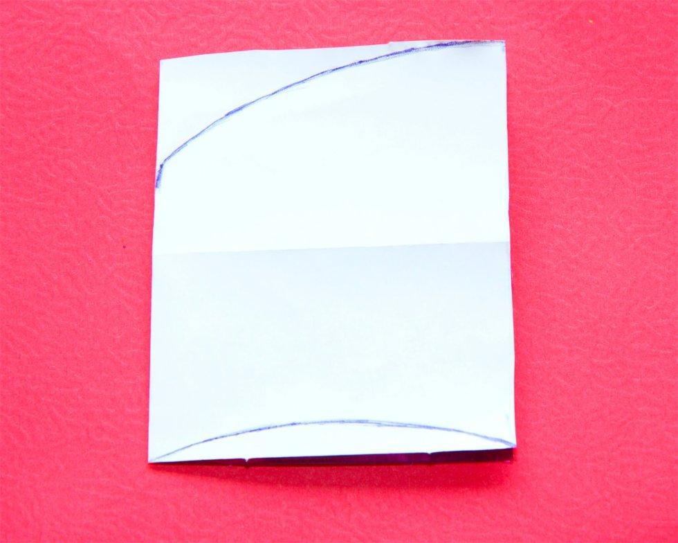 Heart paper fan tutorial - Craft My World
