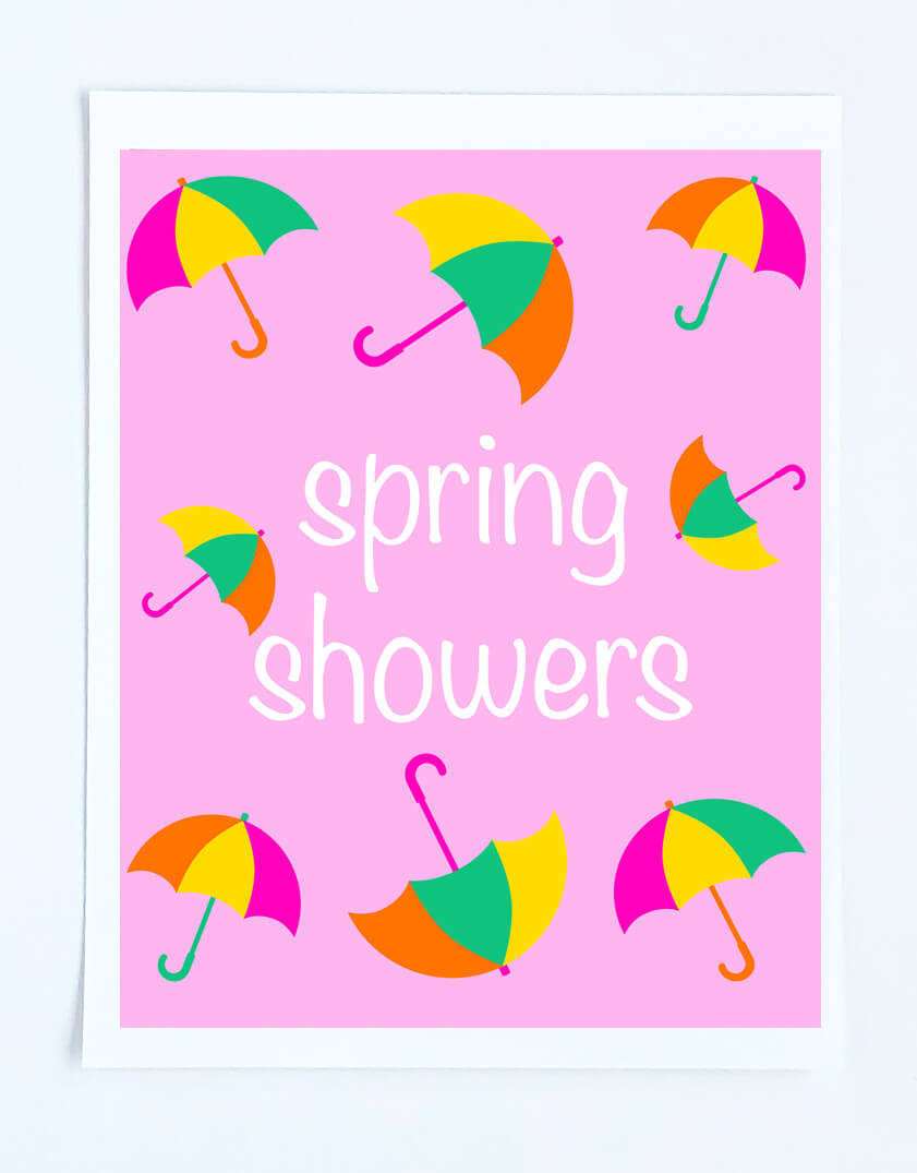 photo about Printable Umbrellas known as Cost-free Printable Artwork print - Craft My Worldwide