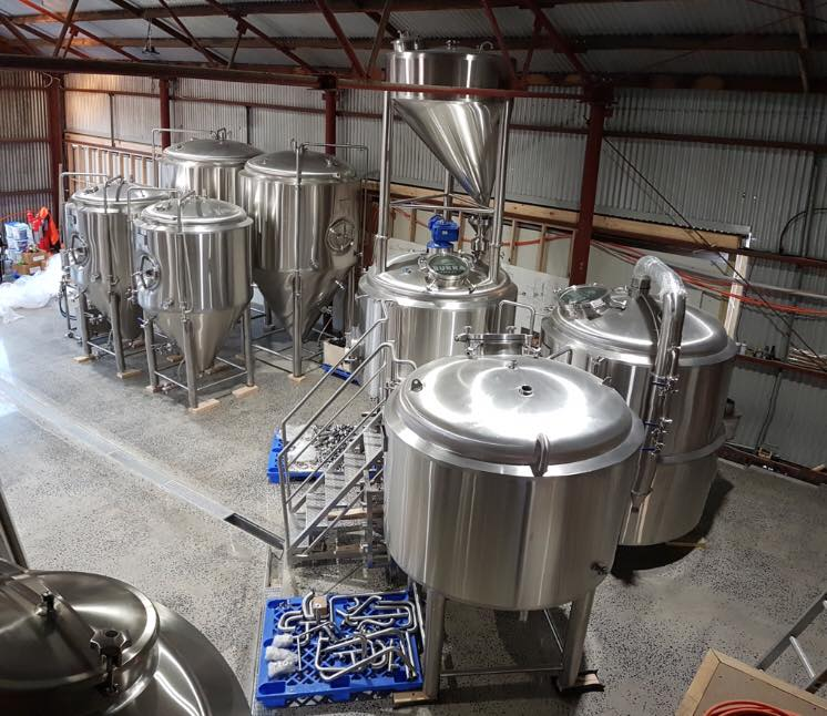 Burra Brewing Co Brewhouse