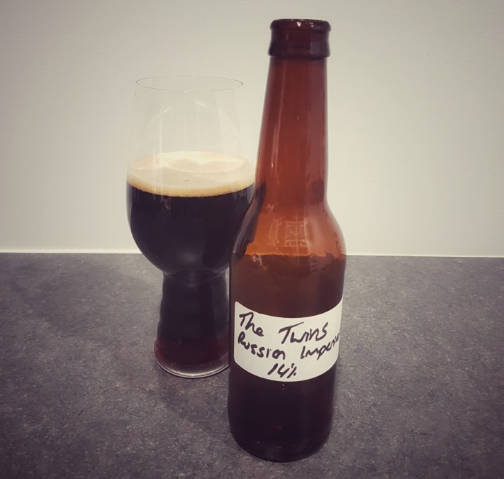The Twins – Barrel Aged Russian Imperial Stout