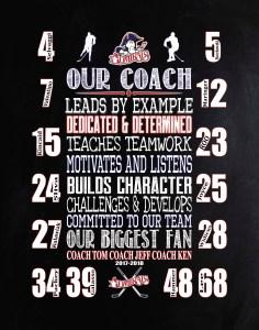Coach Gift, Hockey Gift, CraftnDraft Inc.