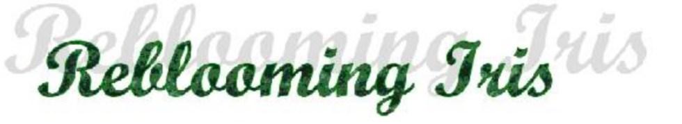 Reblooming Iris Logo