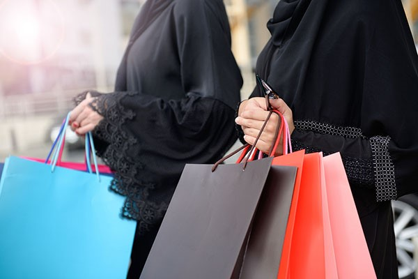 shopping Saudi Arabia
