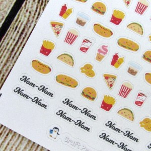 TINY Fast food mixed sheet