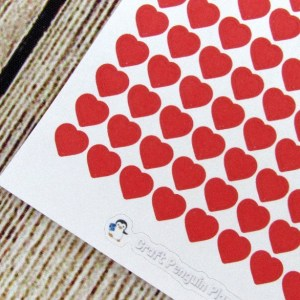 Tiny Heart Stickers