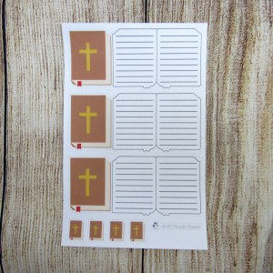 Bible Foldable Sticker