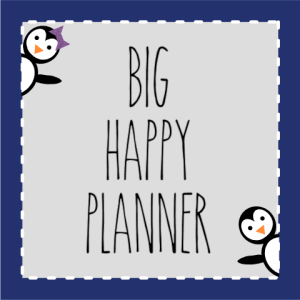 Big Happy Planner