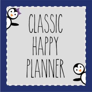 Classic Happy Planner