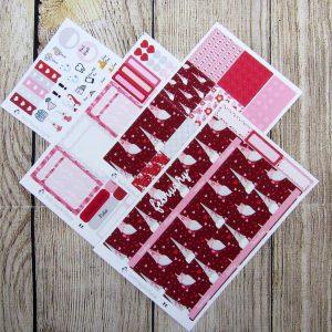 February Monthly Sticker Set, ERIN CONDREN