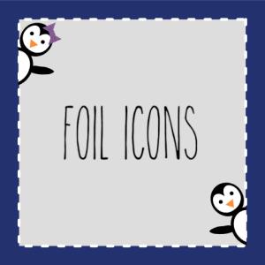 Foil Icons