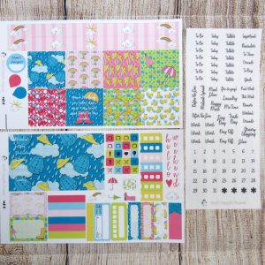 Rainy Days Weekly, MINI HAPPY PLANNER