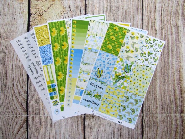 Dandelion Wishes Weekly, CLASSIC HAPPY PLANNER