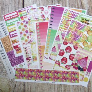 Life's Sweet Fruits Weekly, BIG HAPPY PLANNER