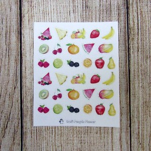 Life's Sweet Fruits Deco
