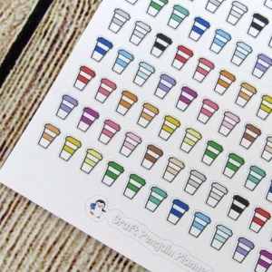 Tiny Coffee Sticker