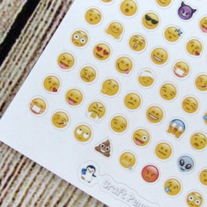 Tiny Emoji Stickers