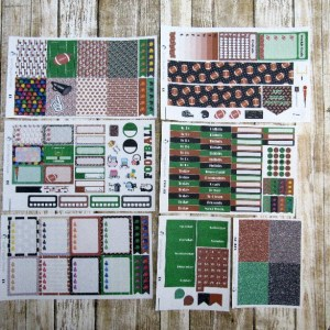 Football Game Day Weekly, ERIN CONDREN