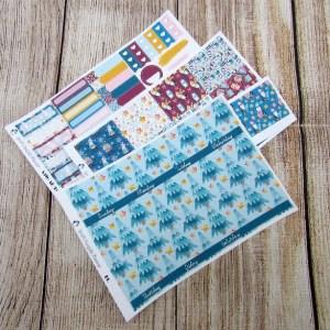 I'm Cute Monthly Sticker Set, Customizable, ERIN CONDREN
