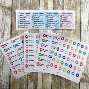 Hurricane Stickers