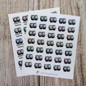 Ink Cartridge Sticker