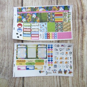 Gnomes Monthly Sticker Set, Choose your month, MINI HAPPY PLANNER