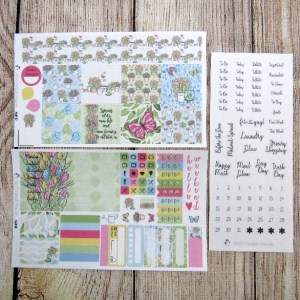 Spring Beauty Weekly, MINI HAPPY PLANNER
