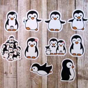 Penguin Die Cuts