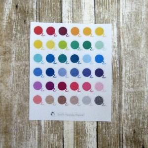 Yarn Ball Stickers