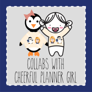 Collabs with Cheerful Planner Girl