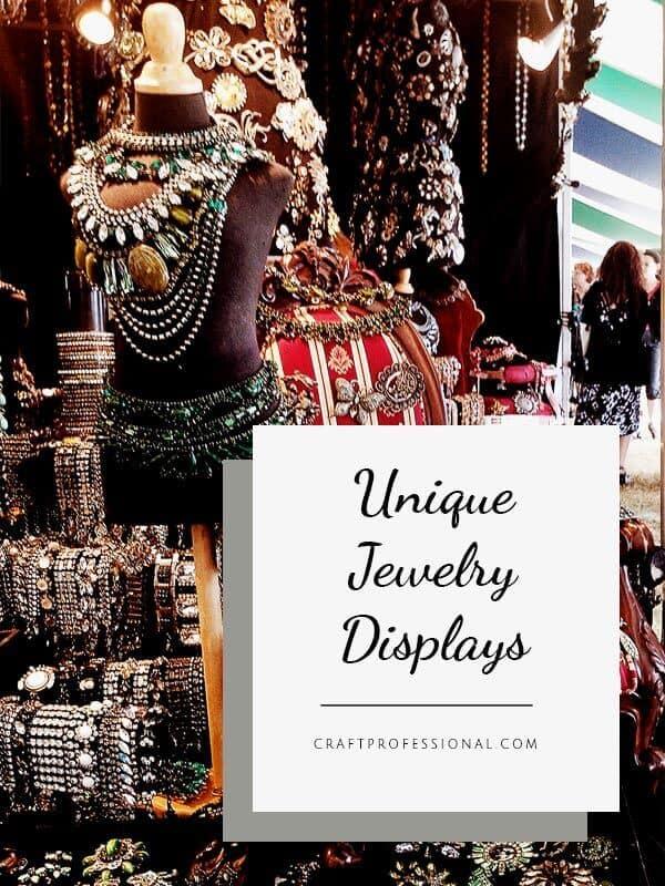 Unique Jewelry Display : unique, jewelry, display, Unique, Jewelry, Displays, Black, White