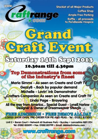 grand craft event sep 14th 2013