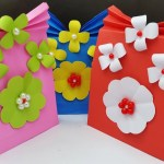 3 Designs Of Cute Crafts Using Paper Bags How To Make A Paper Bag Paper Gift Bag Easy Paper Bag Tutorial