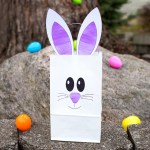 3 Designs Of Cute Crafts Using Paper Bags How To Make The Easiest Paper Bag Bunny Craft