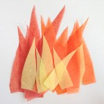 3 Easy Designs Of Crafts Out Otissue Paper Build A Light Up Olympic Torch For Rio Play Cbc Parents