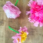 3 Easy Designs Of Crafts Out Otissue Paper Tissue Paper Flowers Baccino Kids Daily Tips Childrens Products