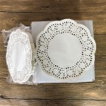 3 Pretty Designs Of Craft Paper Doilies 140pcsset White Round Paper Lace Doilies Paper Cake Placemat Baking